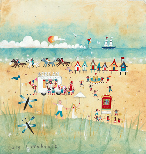 Greetings Cards | Dream Beach | Lucy Loveheart