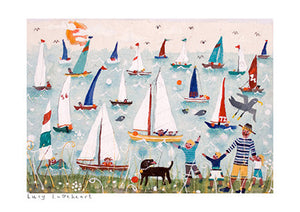 Art Prints | Dream Boats | Lucy Loveheart