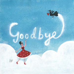 Greetings Cards | Goodbye In the Sky | Lucy Loveheart