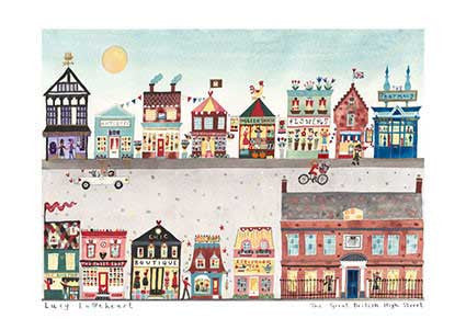 Greetings Cards | The Great British High Street | Lucy Loveheart