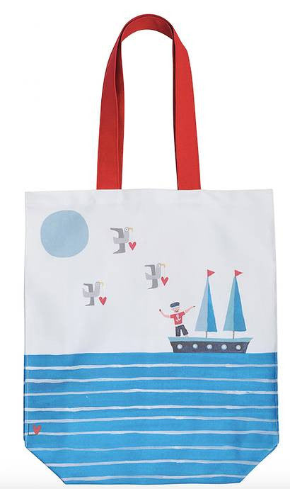 Tote Bag | Kiss Me Quick - Dream Boat | Lucy Loveheart