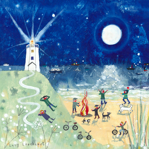 Greetings Cards | Moon Light House | Lucy Loveheart