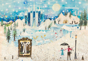 Christmas Card | Large Single - Narnia | Lucy Loveheart