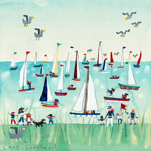 Greetings Cards | Pleasure Boats | Lucy Loveheart