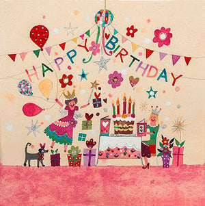 Greetings Cards | The Birthday Party | Lucy Loveheart