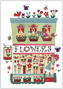 Greetings Cards | Great British High St - The Flower Shop | Lucy Loveheart