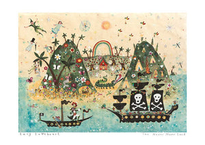 Art Prints | The Never Never Land Art | Lucy Loveheart