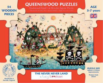 Puzzle | The Never Never Land | Lucy Loveheart