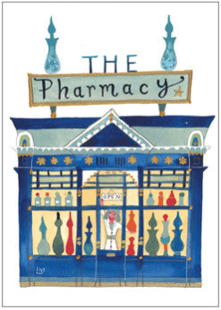 Greetings Cards | Great British High St - The Pharmacy | Lucy Loveheart