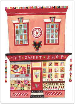 Greetings Cards | Great British High St - The Sweet Shop | Lucy Loveheart