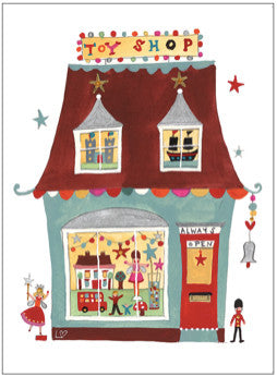 Greetings Cards | Great British High St - The Toy Shop | Lucy Loveheart