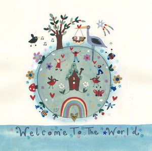 Greetings Cards | Welcome To The World | Lucy Loveheart