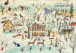 Christmas Card | Large Single - A Winters Tale | Lucy Loveheart