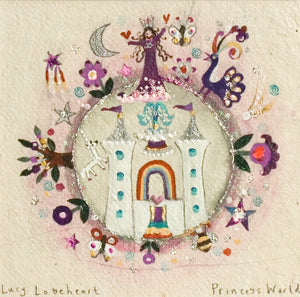 Original Painting | Princess World | Lucy Loveheart