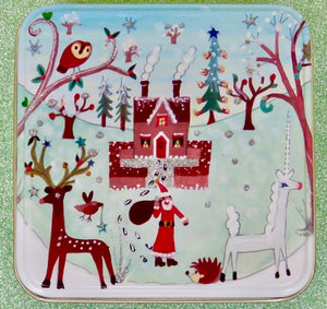 Christmas Gift Tin (medium) | Vanilla Fudge