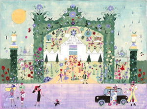 Original Painting | RHS Chelsea Flower Show | Lucy Loveheart