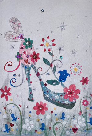 Studio Print in a Tube | Fairy Flower Shoe | Lucy Loveheart