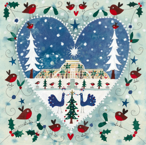 Art Prints | The Star of Kew Christmas | Lucy Loveheart