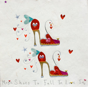 Studio Print - Box Framed | Shoes to Fall in Love With | Lucy Loveheart