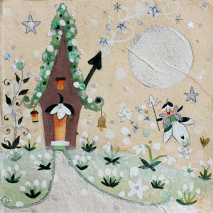Art Prints | Snowdrop Cottage | Lucy Loveheart