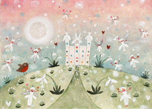 Art Prints | Snowdrop Palace | Lucy Loveheart