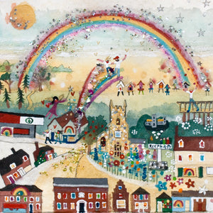 Studio Print  in a Tube | Reepham Rainbow | Lucy Loveheart
