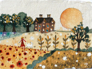 Original Painting | Summer Fields | Lucy Loveheart