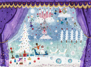 Nutcracker Suite | Limited Edition Studio Print in a Tube | Lucy Loveheart