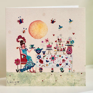 Greetings Cards | Vintage Tea Party | Lucy Loveheart