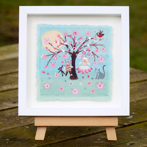Original Painting | Cherry Blossom | Lucy Loveheart