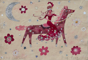 Original Painting | Pink Pony | Lucy Loveheart