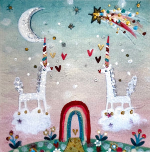 Studio Print | Unicorns In Love | Lucy Loveheart