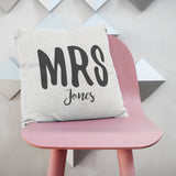 Personalised Mr And Mrs Cushions