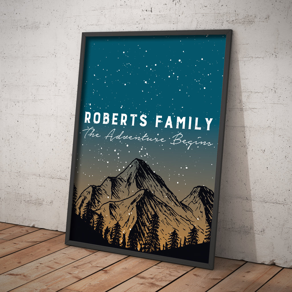 Personalised Adventure Print