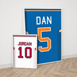 Personalised Basketball Shirt Print