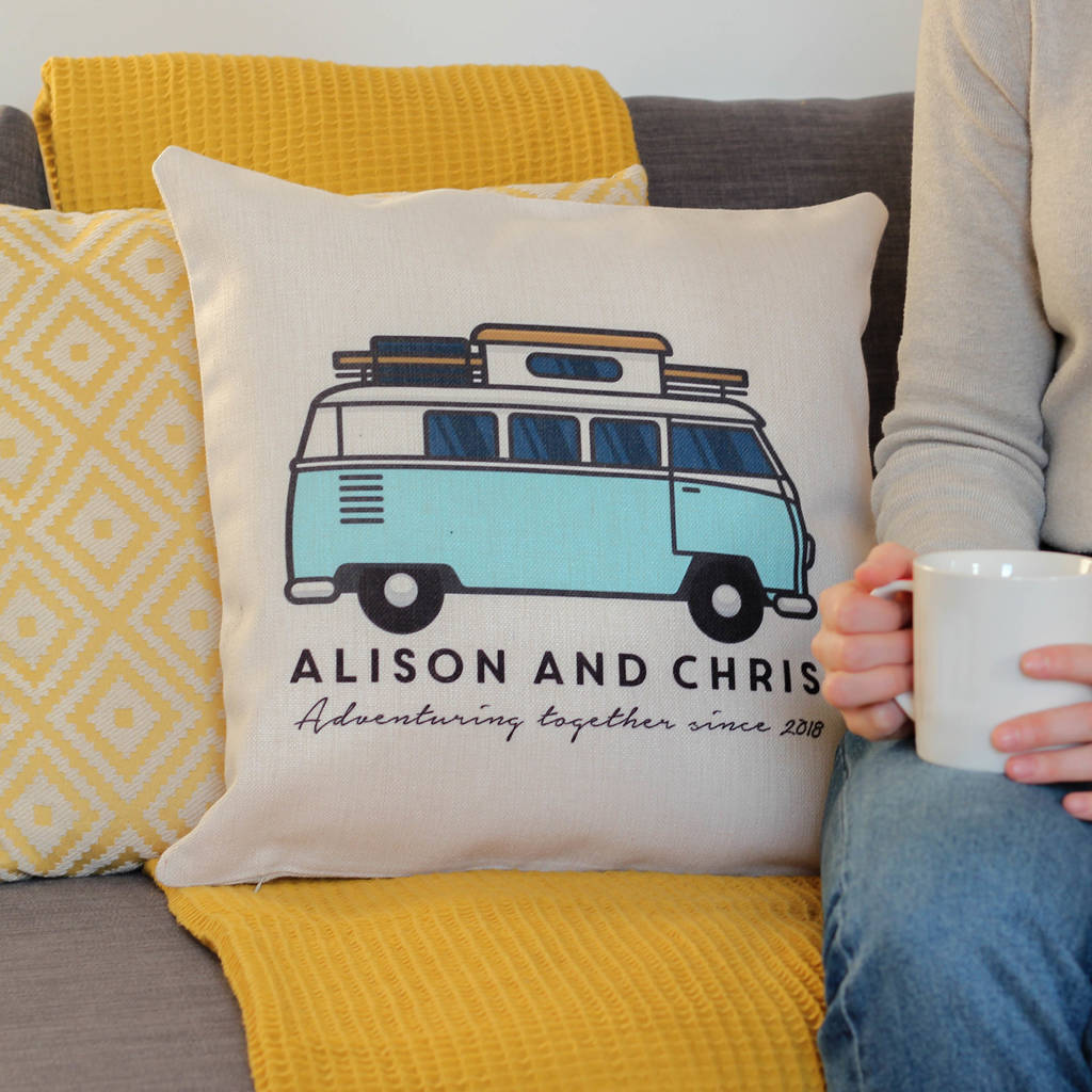 Personalised Campervan Cushion