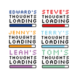 Personalised 'Thoughts Loading' Mug