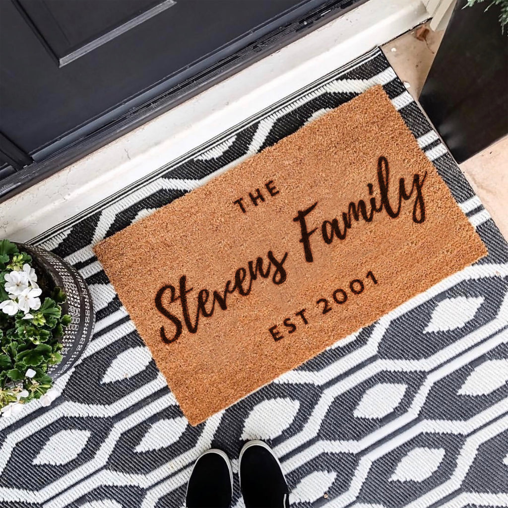Personalised Family Doormat