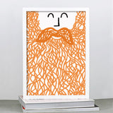 Personalised Beard Print