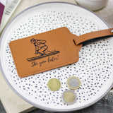 Personalised Ski Luggage Tag