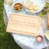 Personalised Cooking Together Chopping Board