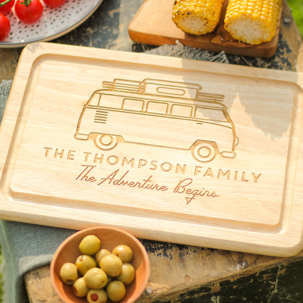 Personalised Campervan Chopping Board