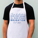 Personalised First Home Apron