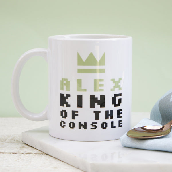 Personalised King Of The Console Mug