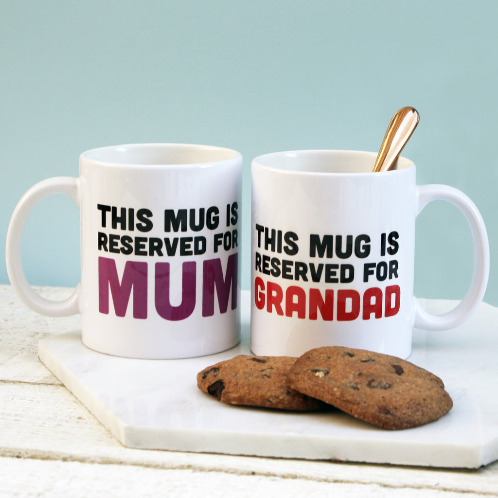 Personalised Reserved For Mug