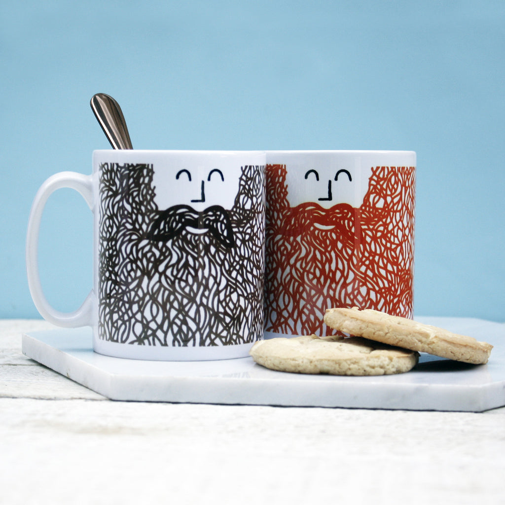 Personalised Beard Mug