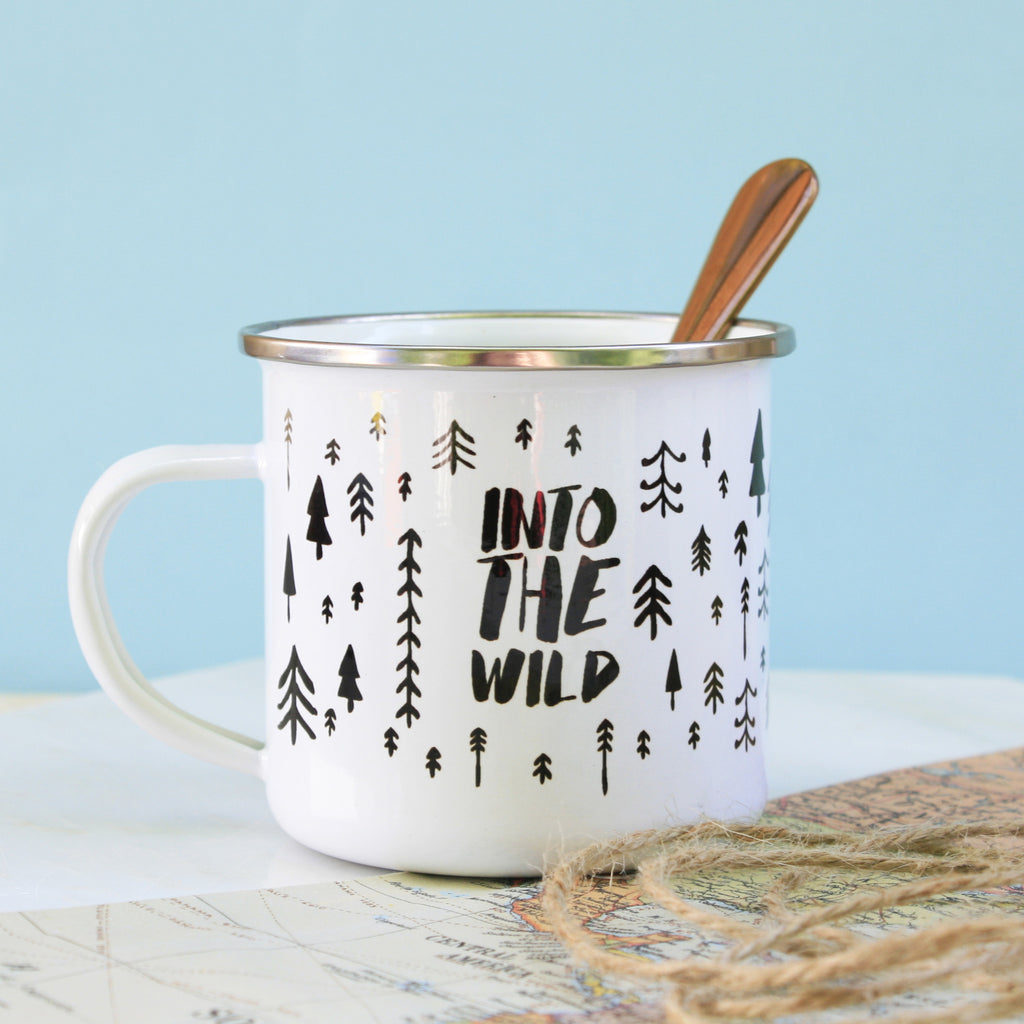Into The Wild Enamel Mug