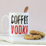 Personalised Coffee / Vodka Mug