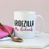 Personalised Bridezilla Mug