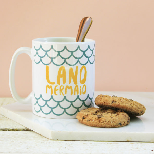 Land Mermaid Mug